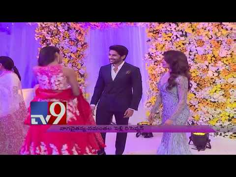 Pooja Hegde at ChaySam Wedding Reception  TV9 Trending