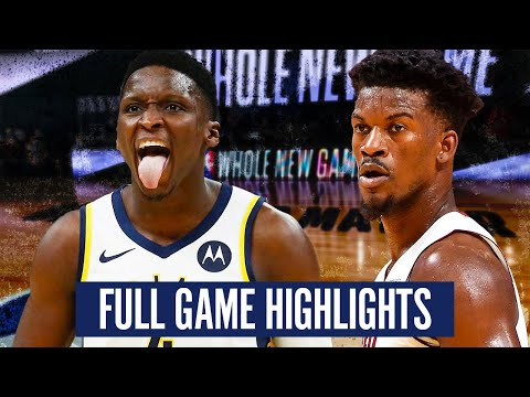 INDIANA PACERS vs MIAMI HEAT - FULL GAME HIGHLIGHTS | 2019-20 NBA  SEASON