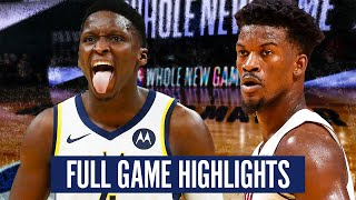 INDIANA PACERS vs MIAMI HEAT - FULL GAME HIGHLIGHTS | 2019-20 NBA  SEASON