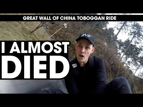 Great Wall of China Toboggan Ride - Best in the World