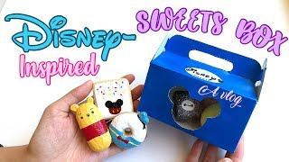 Disney Inspired Squishy Sweets Box! (Vlog) | mishcrafts