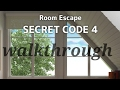 Room escape secret code 4 walkthrough