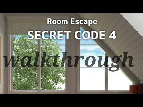 Room escape secret code 4 walkthrough youtube for Small room escape 9 walkthrough
