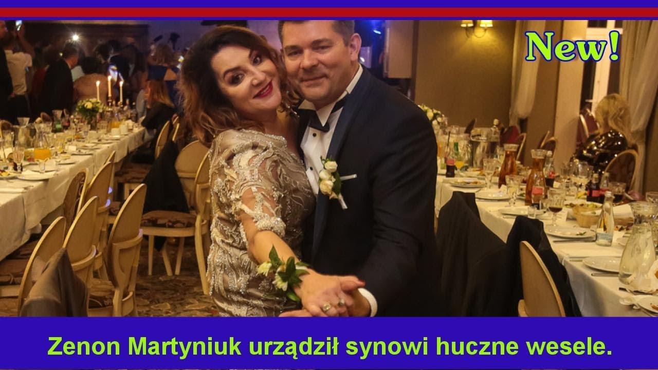 Zenon Martyniuk Urządził Synowi Huczne Wesele Są Zdjęcia Ale Była