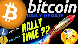 RALLY TIME FOR BITCOIN LITECOIN and ETHEREUM???btc ltc eth price prediction, analysis, news, trading