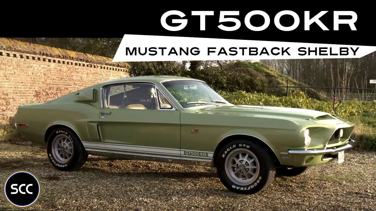 FORD MUSTANG FASTBACK SHELBY GT 500 KR 1968  Modest test drive