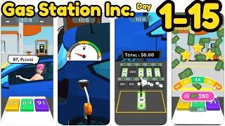 Gas Station Inc. Game Day 1 - 15 Gameplay Walkthrough Part 1 screenshot 4