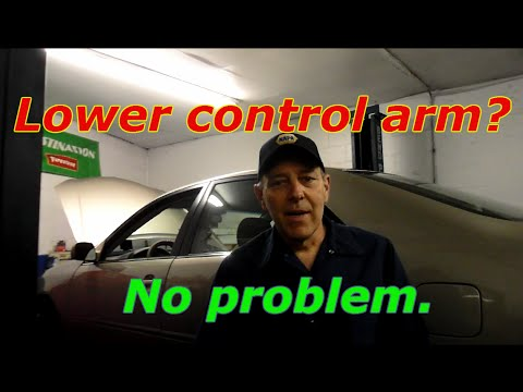 How To Replace The Lower Control Arm And Stablizer Links