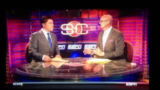 ESPN Talking About Phog Allen Fieldhouse. BEWARE OF THE PHOG thumbnail