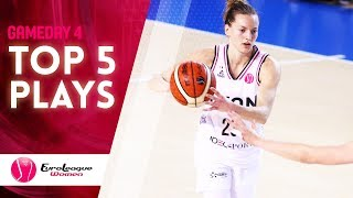 Top 5 Plays | Game Day 4 | EuroLeague Women 2019-20