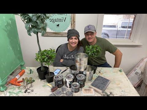 Tin Can Topiary | WNW