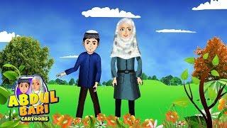Bismillah song with Abdul Bari cartoon character Islamic Cartoons for children thumbnail