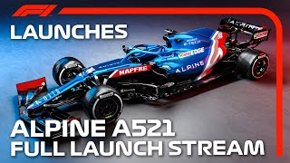 Alpine Reveal Their 2021 Car: The A521