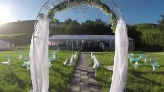 """Пилотное видео """"Свадьба в шатре"""