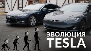 История.Модельный Ряд/Эволюция Tesla И Model S