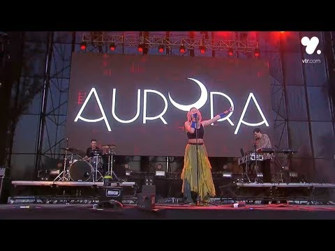 Aurora - Queendom (Live Lollapalooza Chile 2018)