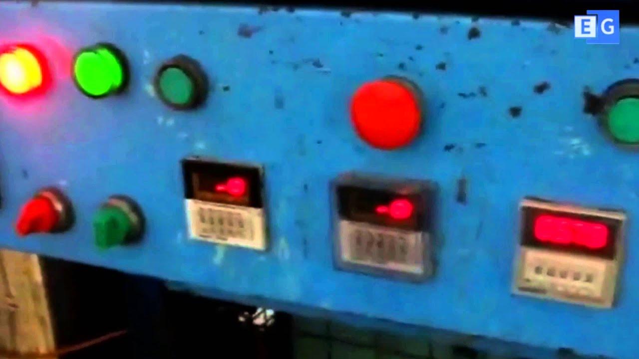 Точки смазки лубрикатора фрезерого станка 675 Одесса - YouTube