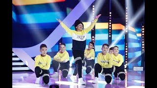 Aqua Boys, moment spectaculos de street dance pe scena Next Star
