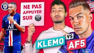 VIDEO: KLEMO VS AF5 :  QUI VA REUSSIR SON DEFI SECRET ? (Fifa Ultimate Team)
