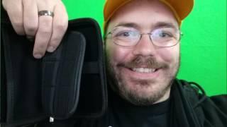 Saygoer Hard Drive EVA Case 2.5 Inch Portable Travel Organizer Electronics Cables Accessories, Black