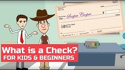 What is a Check (or Cheque)? Easy Peasy Finance for Kids and Beginners