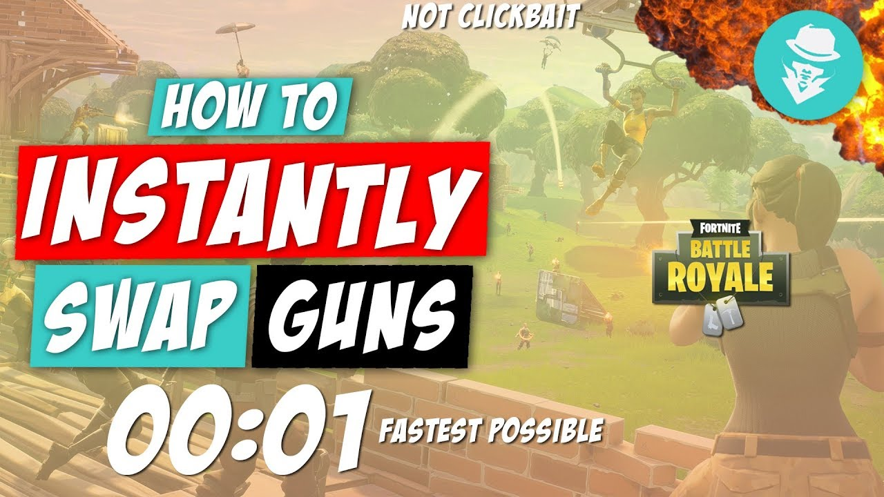 (100% FASTEST) Way To Change Weapons In Fortnite Battle Royale!
