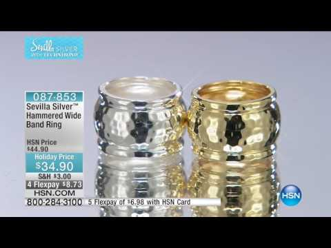 HSN | Sevilla Silver Jewelry with Technibond 10.04.2016 - 08 PM