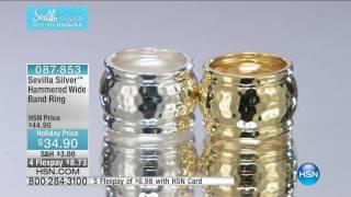 HSN | Sevilla Silver Jewelry with Technibond 10.04.2016 - 08 PM