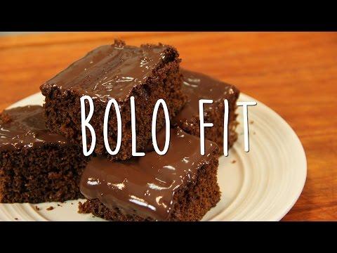 Receita de Bolo de Chocolate Fit - Fit à Milanesa