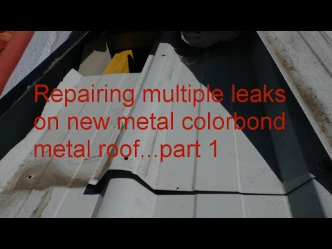 Leaking Roof Repair Sydney Repairing Hidden Leaks On New