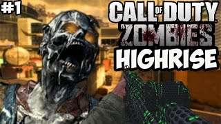 """HIGHRISE MW2 ZOMBIES!"" - Call of Duty Zombies ""HIGHRISE"" Custom Map #1 (Custom Zombies)"
