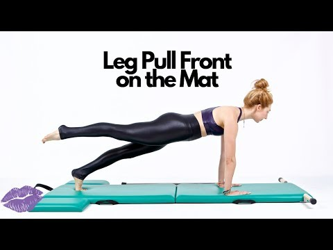 Leg Pull Front on the Mat | Online Pilates Classes