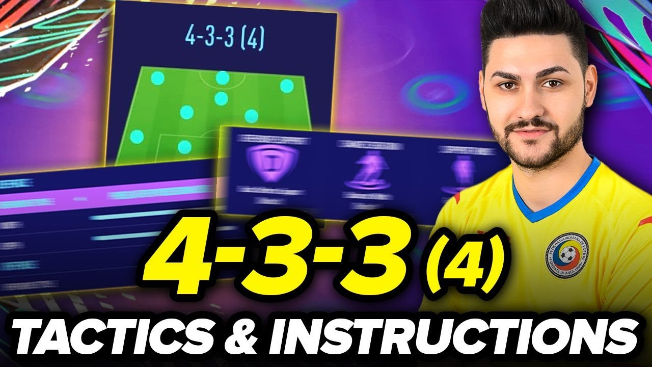 FIFA 21 AFTER PATCH BEST FORMATIONS 4-3-3 (4) TUTORIAL - BEST TACTICS & INSTRUCTIONS / 4-3-3 GUI