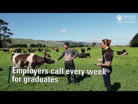 Study Agriculture at Massey University
