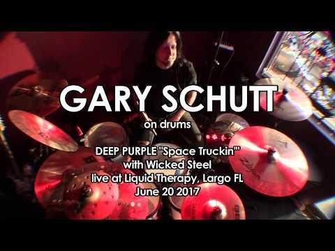 Space Truckin drum cover