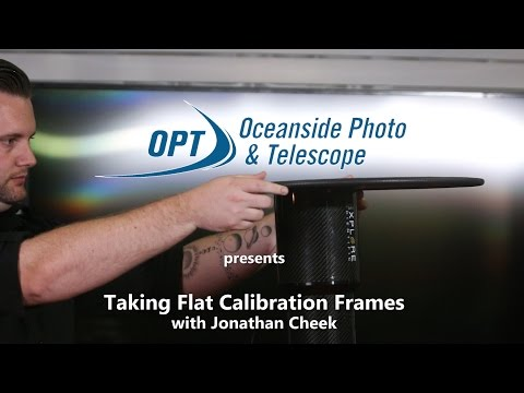 Taking Flat Calibration Frames for Better Image Processing- OPT