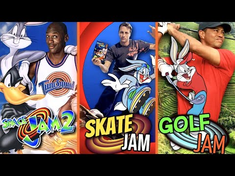 7 CANCELLED Space Jam Sequels You Never Saw (FOOTAGE)