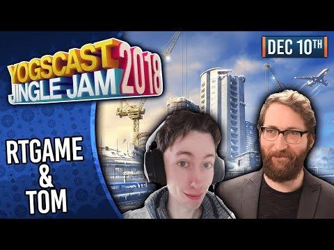 RTGAME & TOM! - YOGSCAST JINGLE JAM! - 10th December 2018