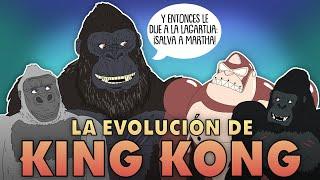 La Evolución de KING KONG (Animada)