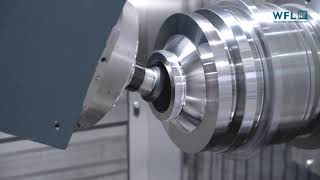 Complete machining on the new M20-G MILLTURN