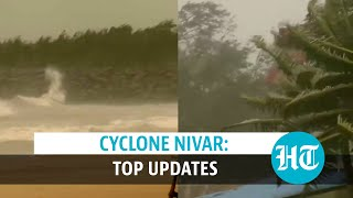Watch: Tamil Nadu, Puducherry brace for Cyclone Nivar with Covid protocols