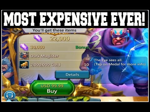 Lords Mobile: Dark Magister MOST EXPENSIVE HERO EVER!