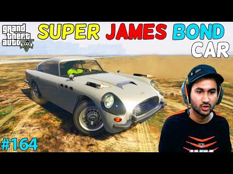 GTA 5 : SUPER JAMES BOND CAR GIFT   GTA5 GAMEPLAY #164