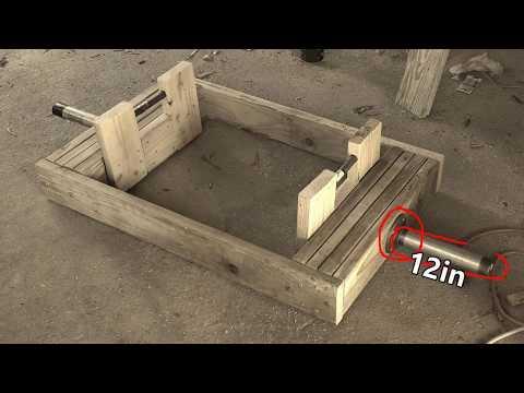 "How I Built ""The Craziest Gym Ever"" Series: Episode 2 - Trap Bar"