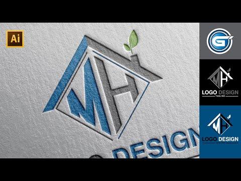 Logo Design Tutorial :  Master in Graphic Design Illustrator CC thumbnail