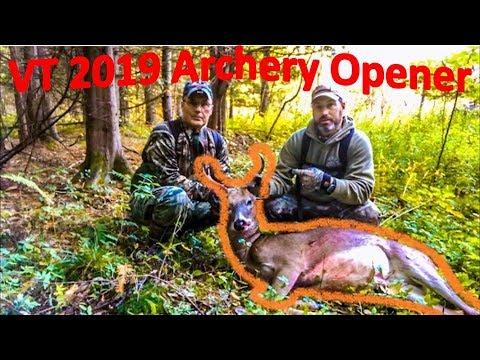 Vermont Deer Hunting - Opening Weekend Archery SUCCESS!!