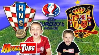 Predicción Adrenalyn XL para el  Croacia - España de la Eurocopa 2016