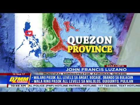 'Maring' makes landfall in Quezon, threatens Metro Manila