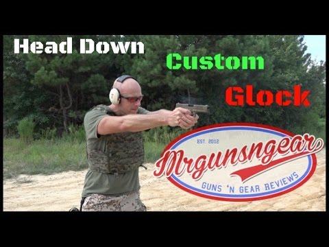 Head Down Firearms Custom FDE Glock 21 Review (HD)