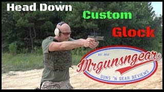 Head Down Firearms Custom FDE Glock 21 Review (HD)